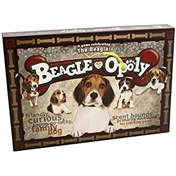 Amazon Com Beagle Opoly Toys Games Beagle Beagle Art