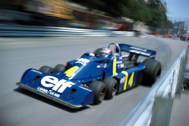 Es normal asociar la palabra coche a las cuatro ruedas pero no back in 1976 this six wheeled tyrrell ford was a front runner thecheapjerseys Choice Image
