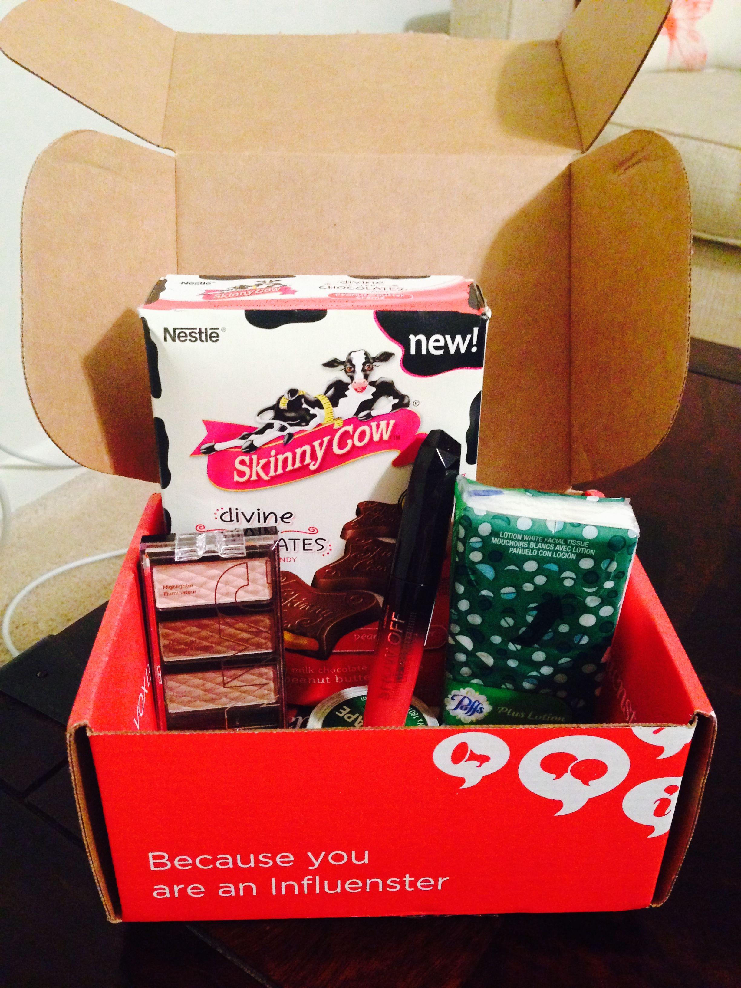 A box of free goodies!!!
