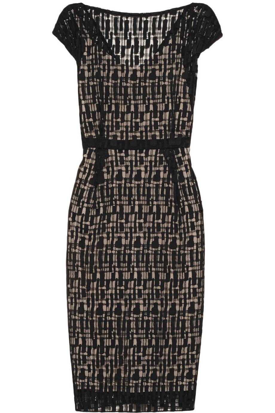 Lela Rose|Lace dress|NET-A-PORTER.COM