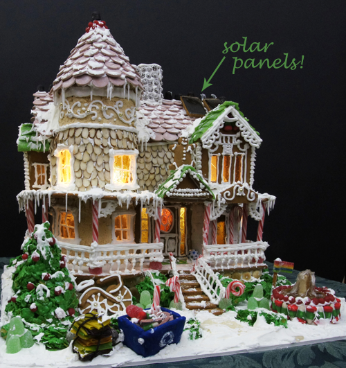 National Gingerbread Competition 2013 | FUN STUFF: Eco-Friendly Gingerbread Houuse Wins NationalTrophy | The ...