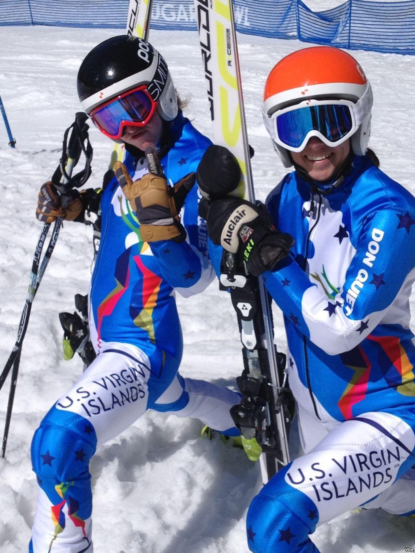 US Virgin Islands skiers at Sochi 2014 Olympic team
