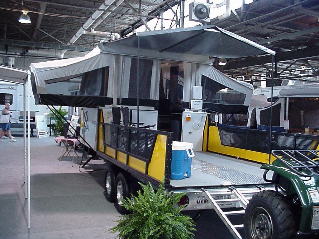 Homemade Toy Hauler   Toy hauler camper, Diy camper trailer