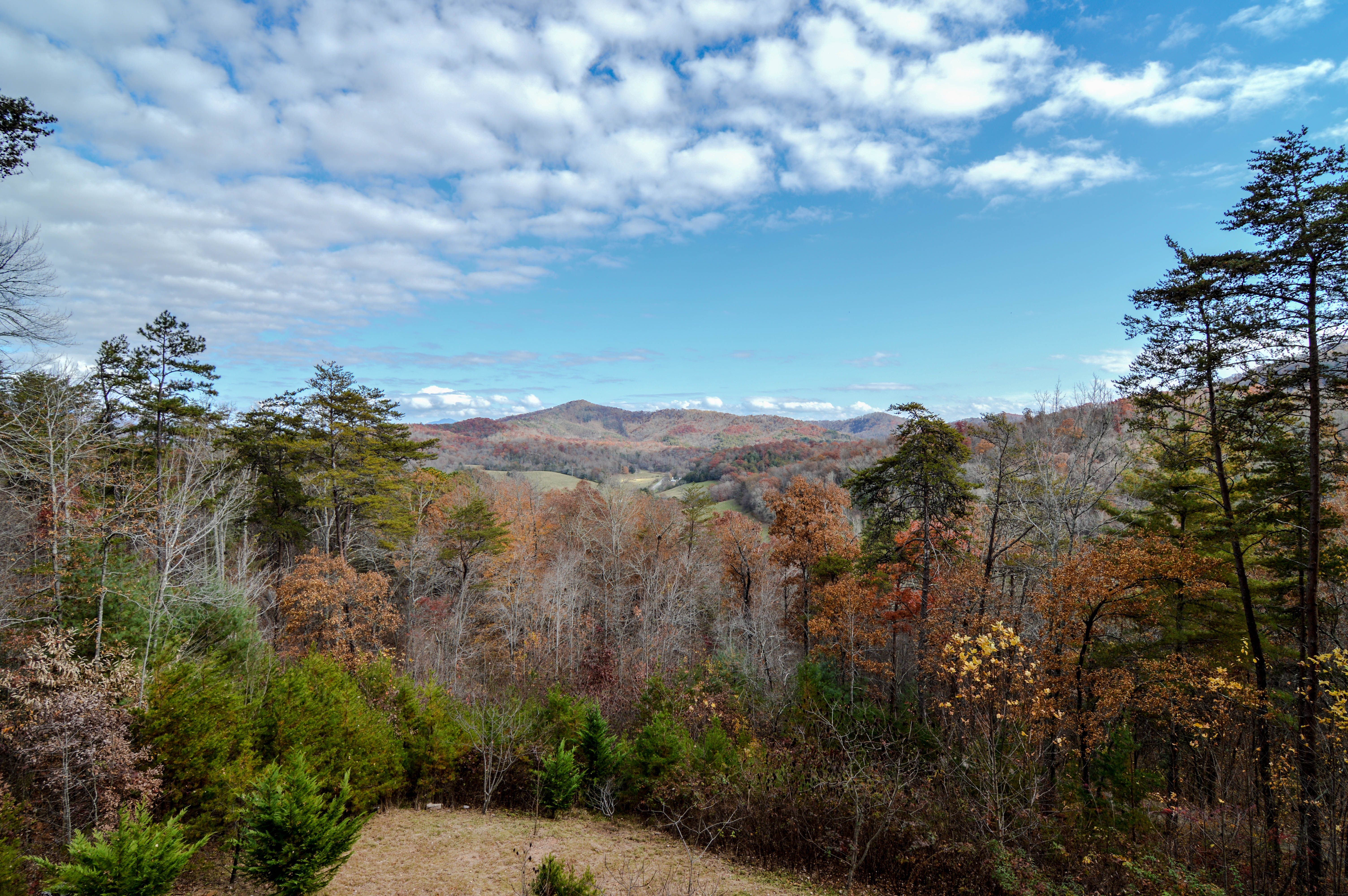 Sit and relax on your back porch and stare endlessly on the FANTASTIC long-range mountain and forrest views! For more info please contact Rick Andrews 706-970-7120 or email info@bestmountaindeals.com