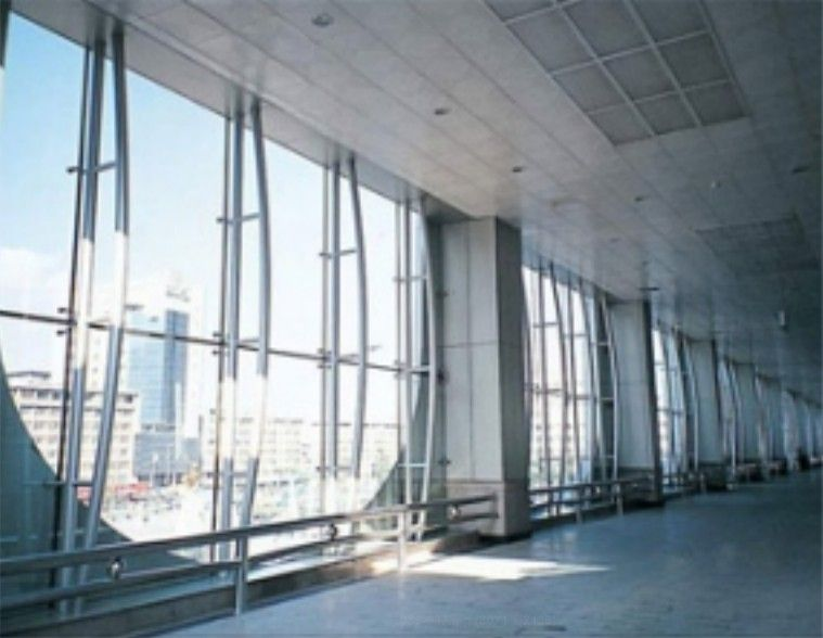 Steel Truss Curtain Wall Industrial Theming Steel