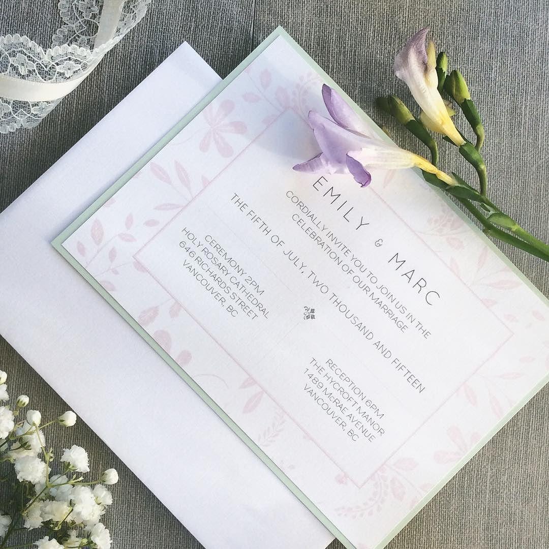 fabulous vancouver wedding E+M kicked off their romantic wedding ...