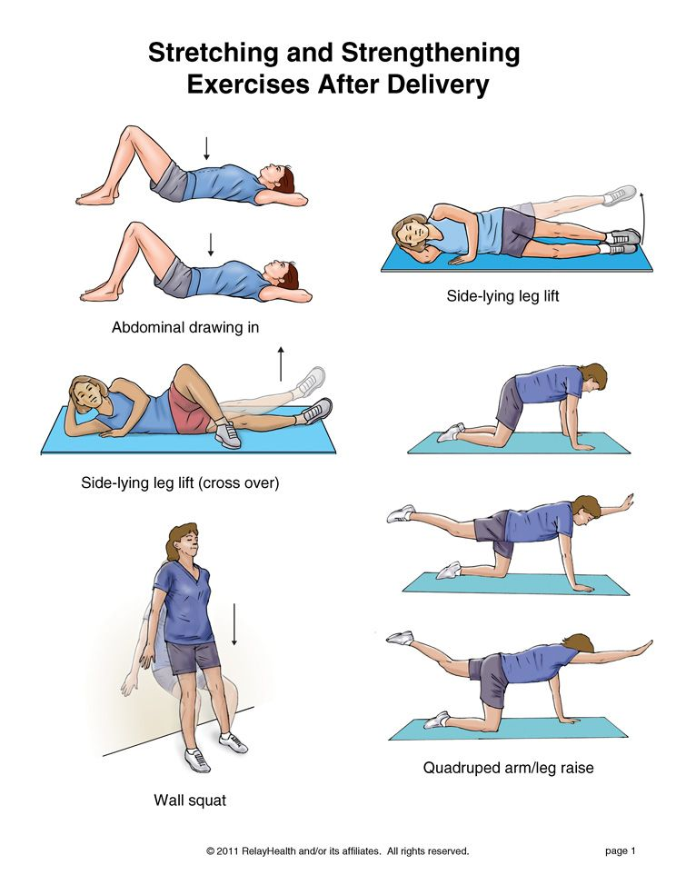 stretching exercises with pictures