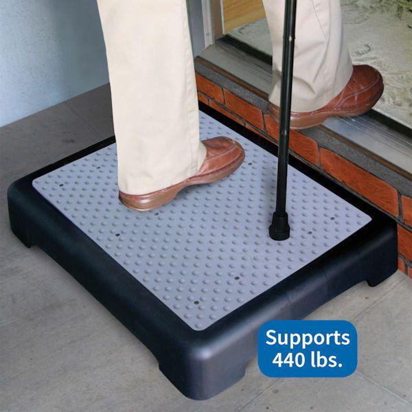 Best Mobility Riser Half Step For Slip Resistant Use Indoor Or 400 x 300