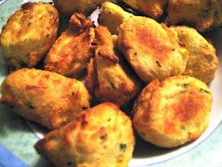 Receitas Actifry: Pasteis de Bacalhau