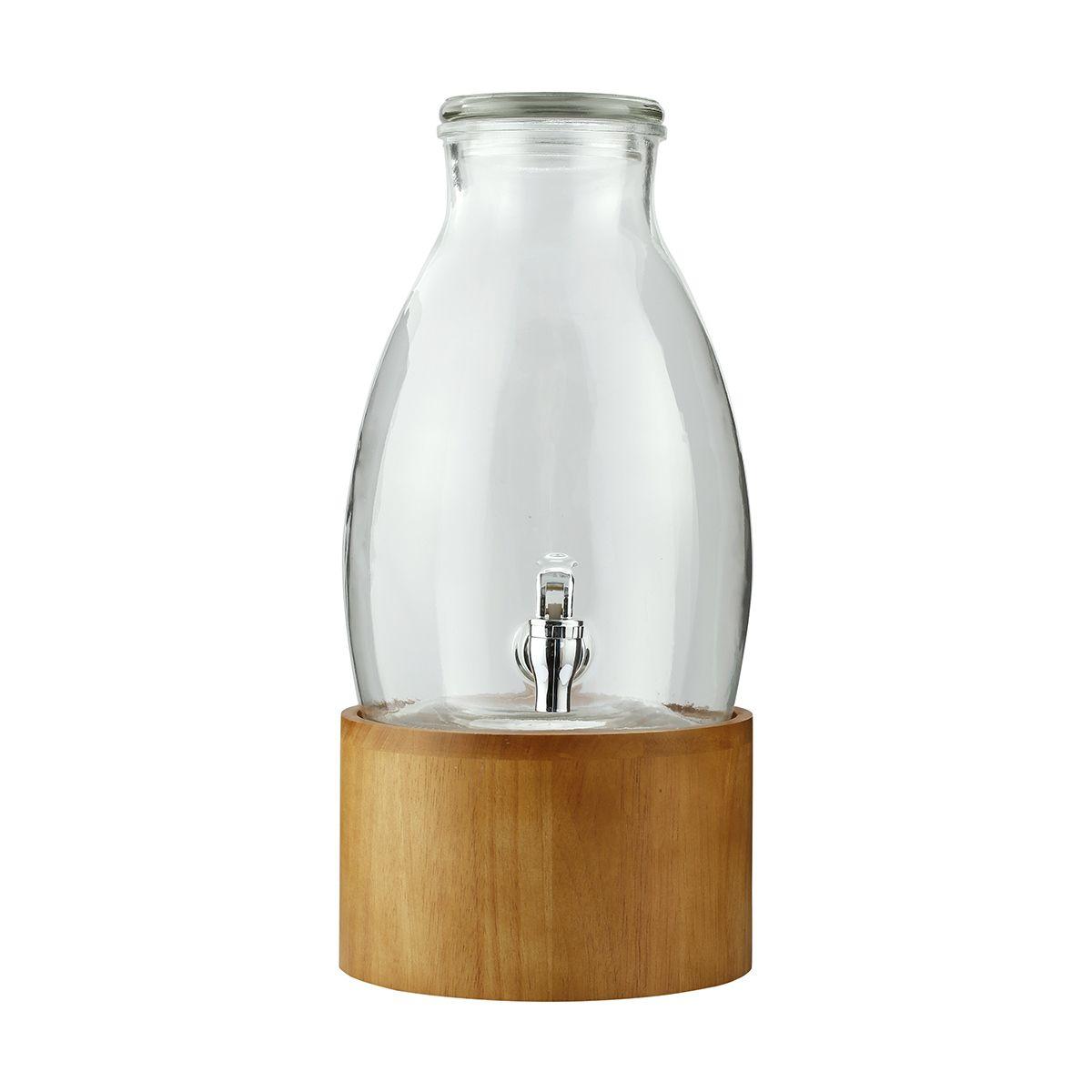 Dispenser with rubber wood stand kmart wine dispenser