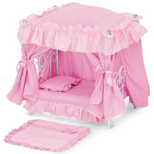 Baby Doll Furniture and Accessories Toddler Girls Baby Doll Canopy