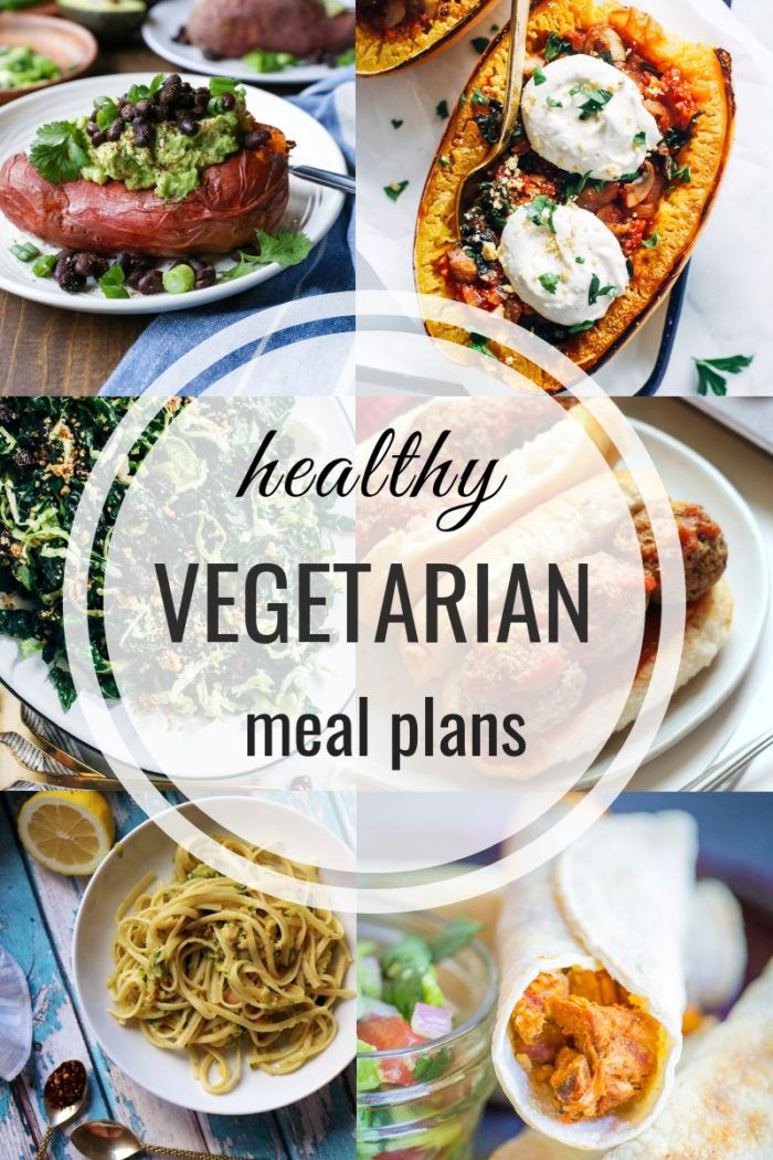 Healthy Vegetarian Meal Plan 12.09.18 images