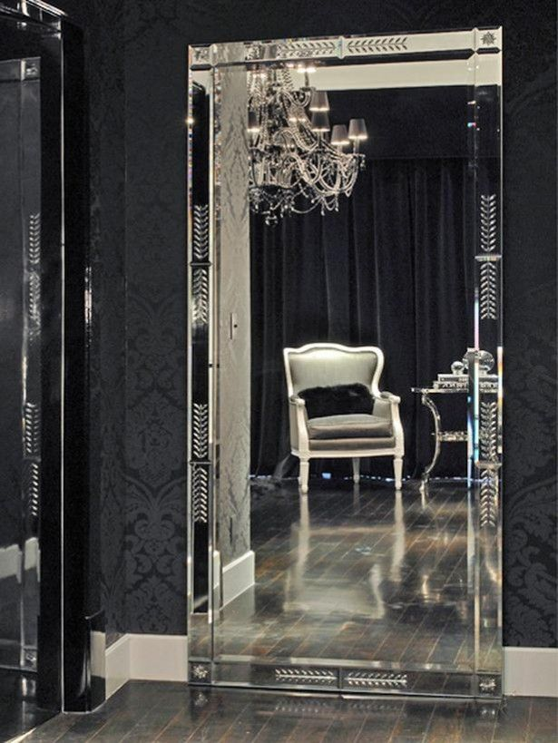 interesting bedroom mirrors | Wonderful Modern Bedroom Mirrors Luxurious Design Black ...