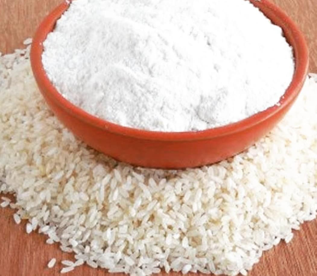 لأزاله تصبغات المناطق الحساسه ومنطقه الأبط بأستخدام دقيق الأرز أو Rice Powder المكونات معلقه دقيق الأرز معلقه بيكربونات الصوديوم معلقه معجون Food Condiments