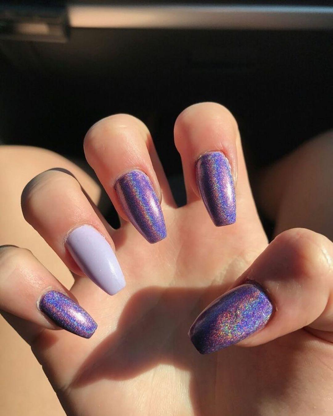 Fingernail Art Ideas Marble Nail Art Creative Nail Design Nail Salon Design Basic Nail Designs Lat Holographic Nails Acrylic Rhinestone Nails Halographic Nails