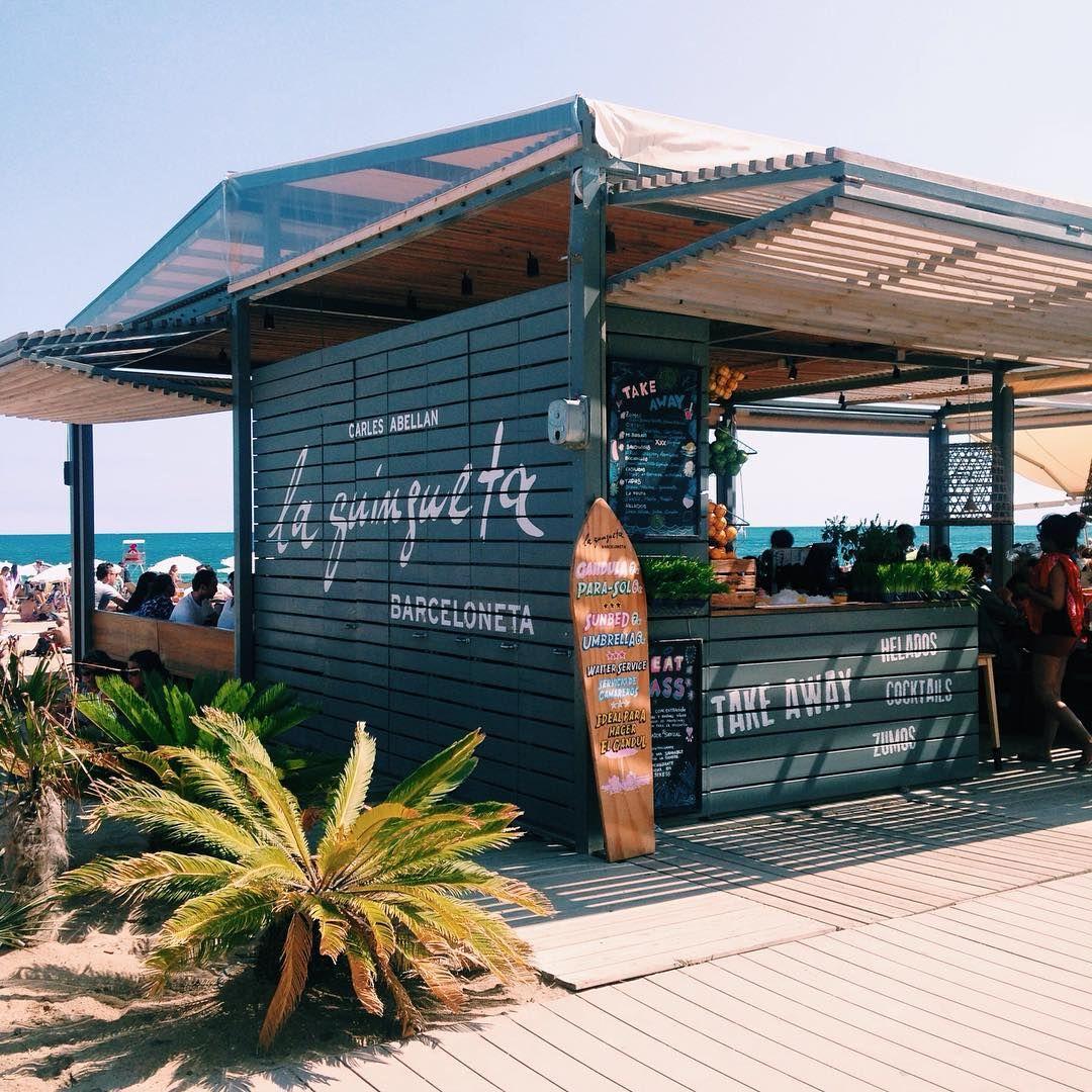 La Guineueta Barcelona Surf House Beach Cafe