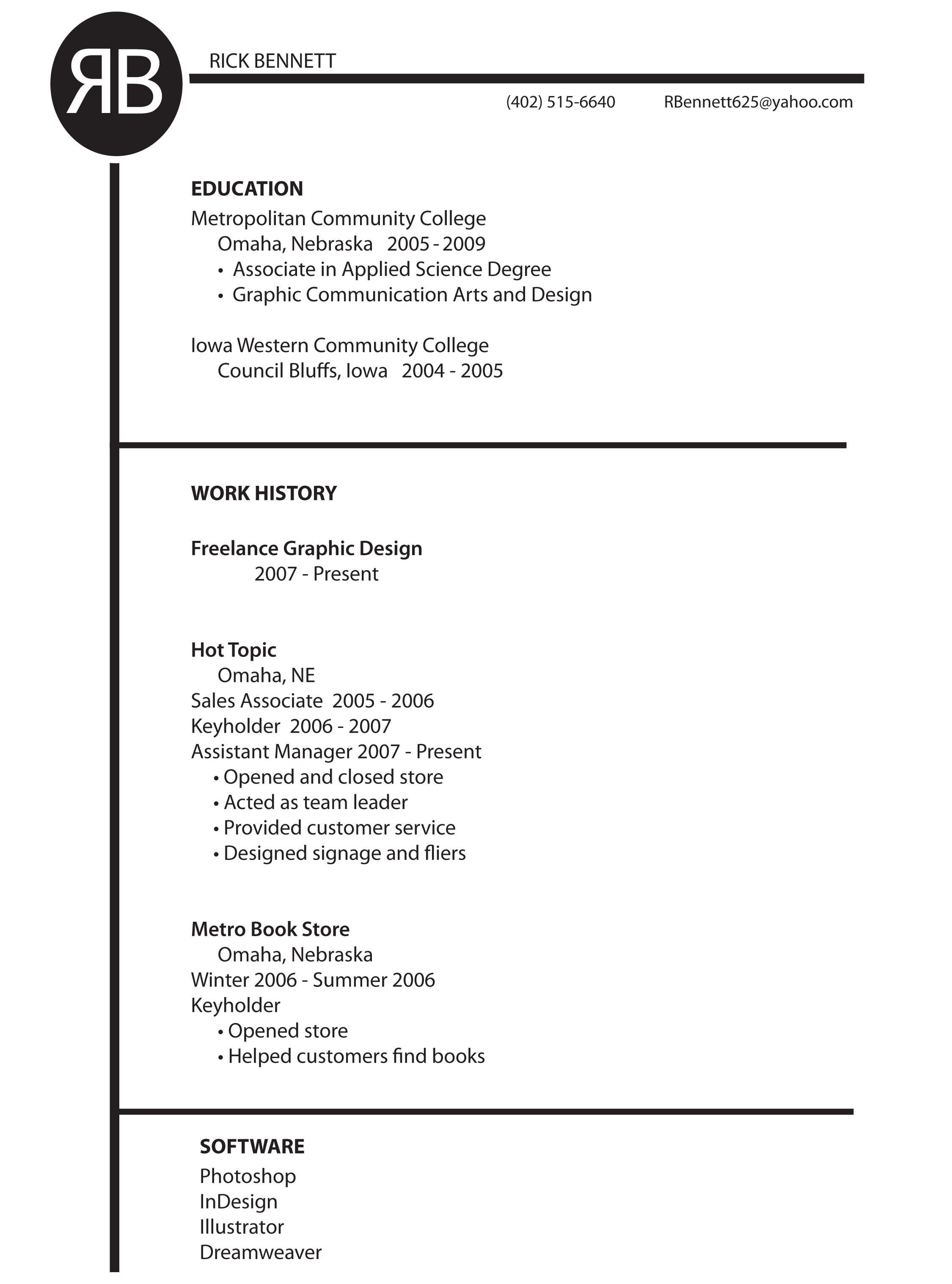 Graphic Designer Resume  HttpWwwResumecareerInfoGraphic