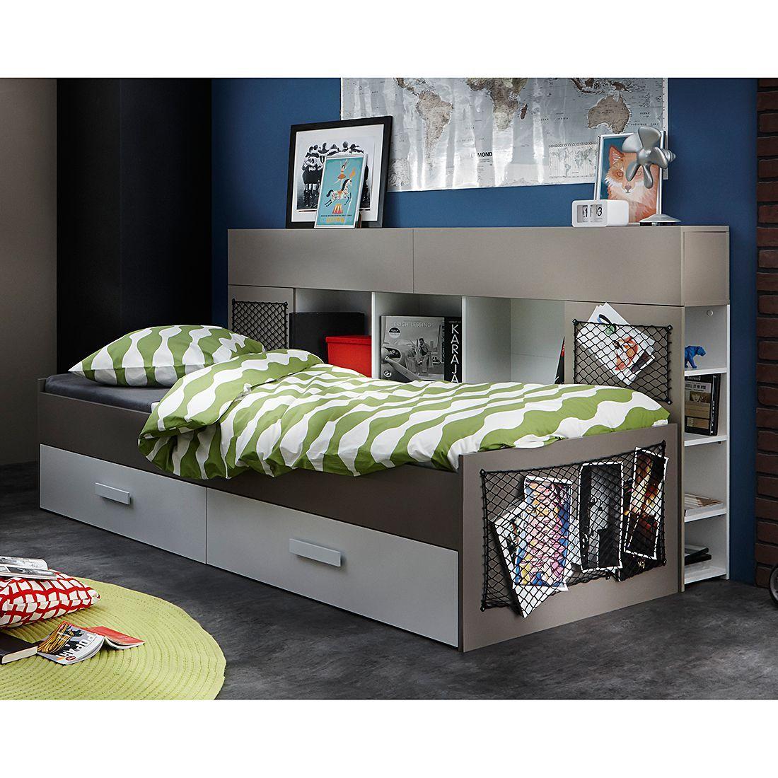 Lit Multi Rangements Texto Acheter Home24 Meuble Chambre Chambre Ado Lit Decoration Lit