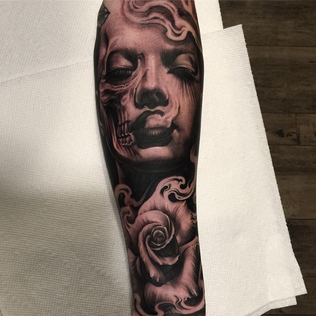 Done yesterday on a rad Tattooer from redondo vetoe