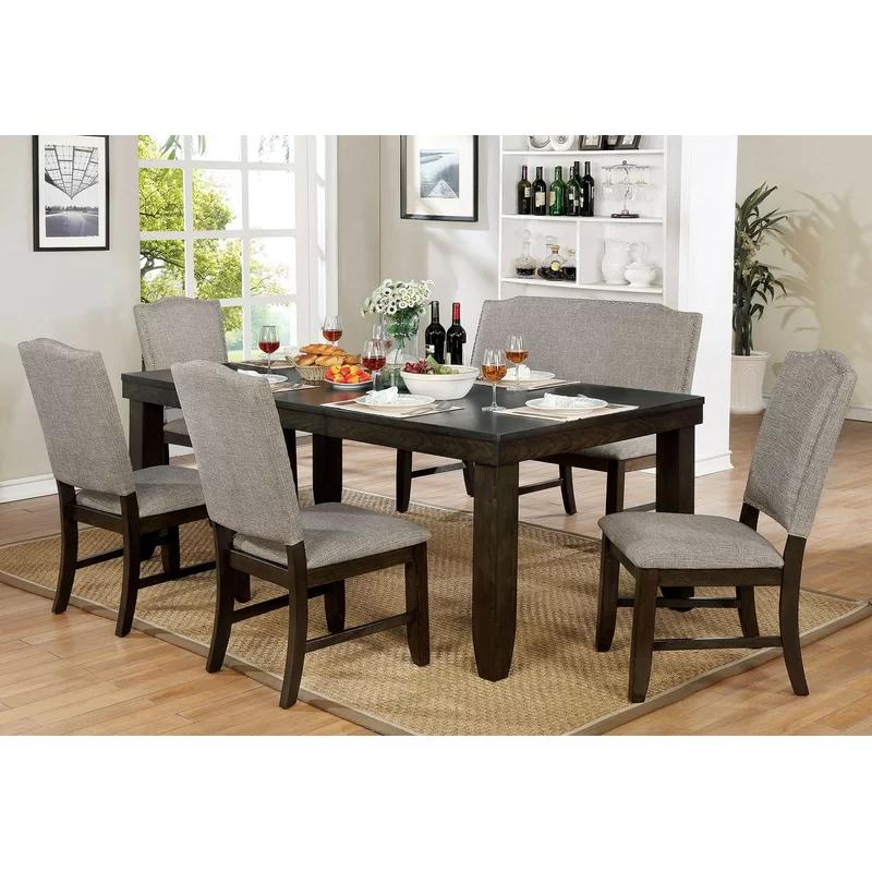 Gracie Oaks Twanna 6 Piece Drop Leaf Dining Set Wayfair In 2020 Furniture Of America Furniture Dining Table Sizes