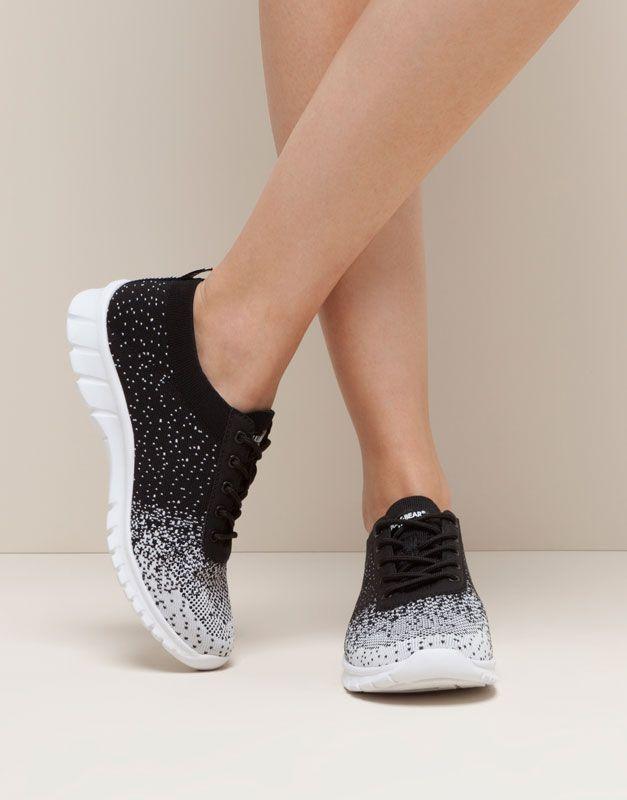 Gym Sneakers Women S Footwear Woman Pull Bear United Kingdom Women Shoes Womens Sneakers Shoes