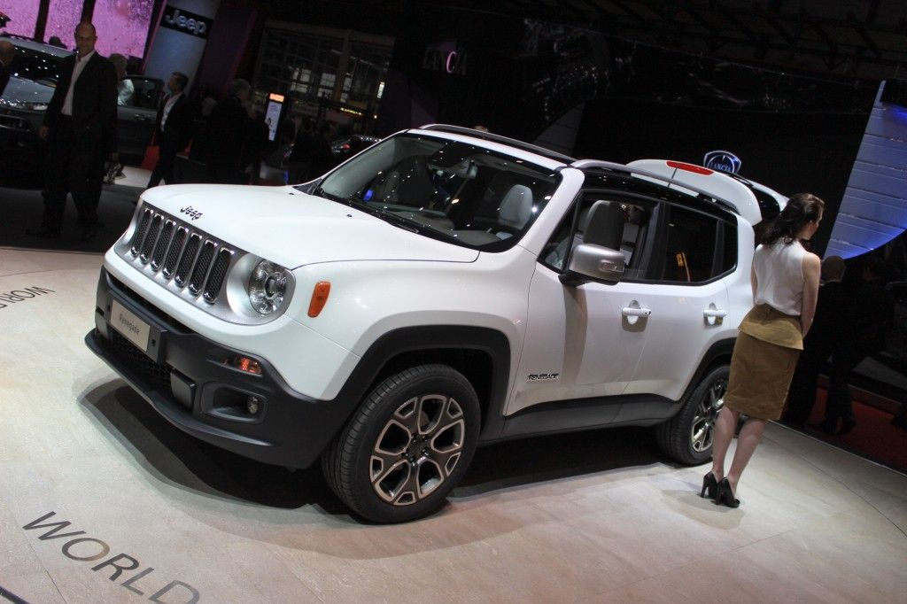 Jeep Renegade 2015 Jeep Renegade Tiniest Jeep Yet Unveiled In