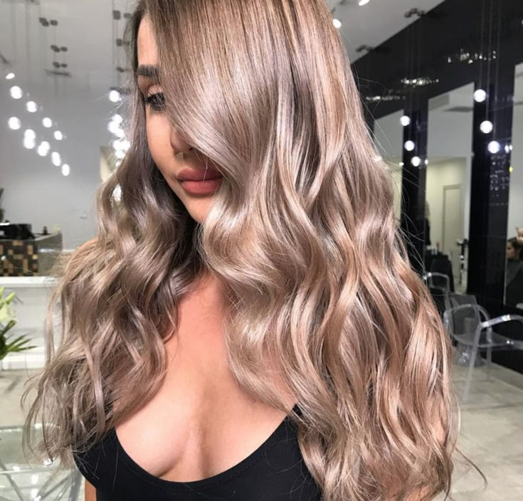 Champagne Blonde #champagneblondehair
