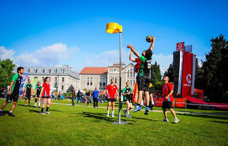 Korfball Match In Sports Festival Sports Festival In Year 2013 Took Place At Th Affiliate Festival Year Korfball Ma Sports Festival Match