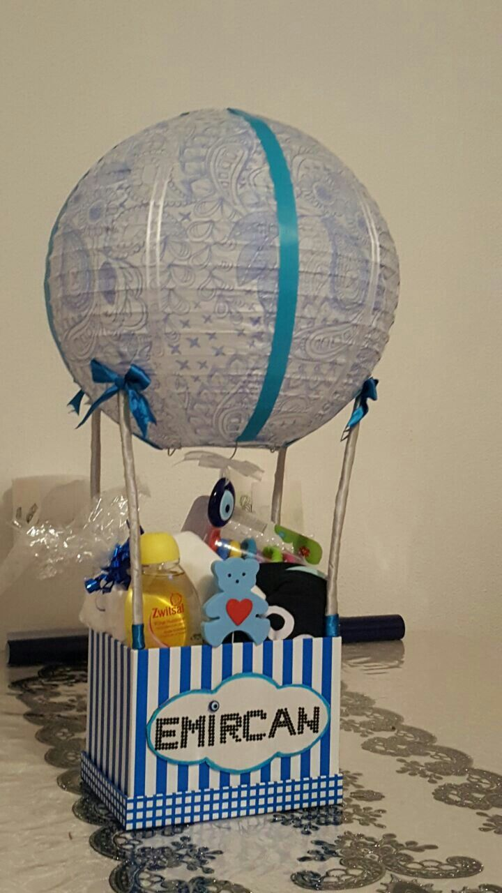 Babyshower luchtballon