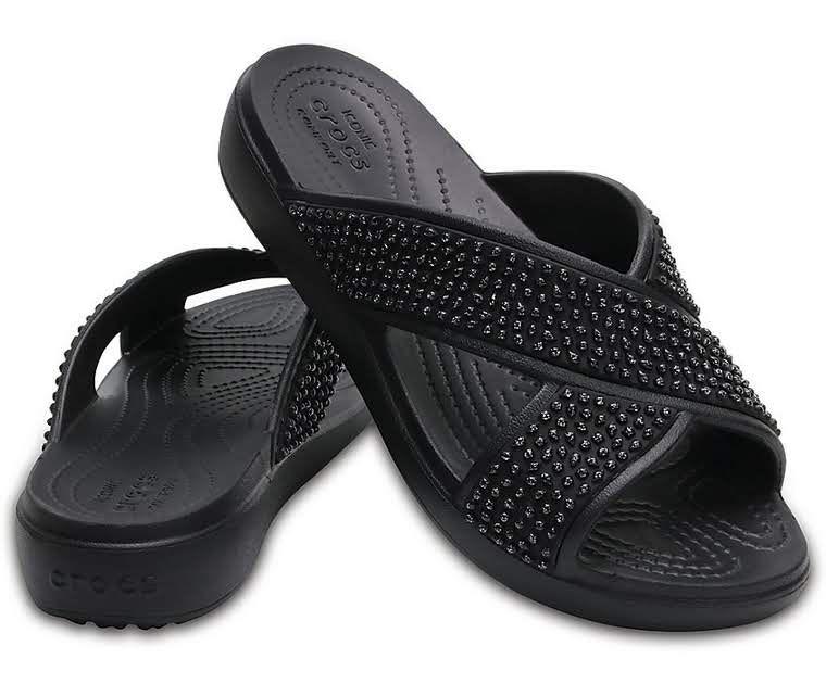 Crocs™ Sloane Embellished Slide (Women's) nj6ZZEd