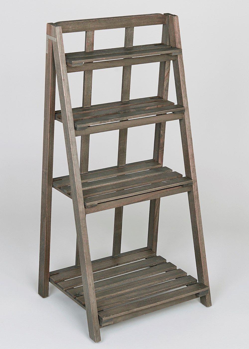 Slatted Bathroom Shelving Ladder Unit (40cm x 30cm x 80cm) - Matalan & Slatted Bathroom Shelving Ladder Unit (40cm x 30cm x 80cm) - Matalan ...