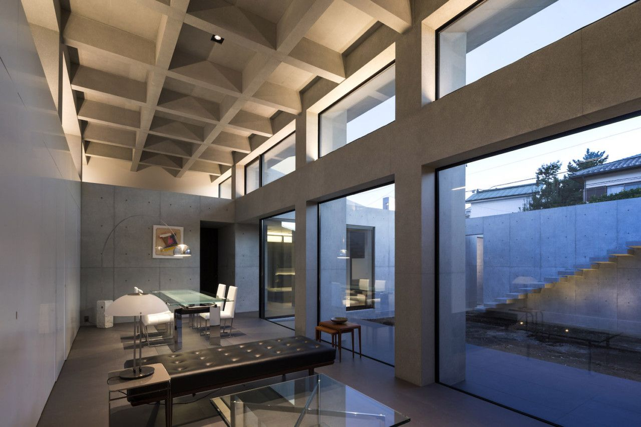 Grid by APOLLO Architects & Associates   Concrete, Architects and Spaces