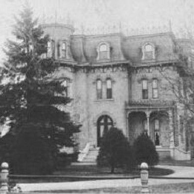 Glanmore, circa 1900, Ontario, Canada   Roof architecture ...