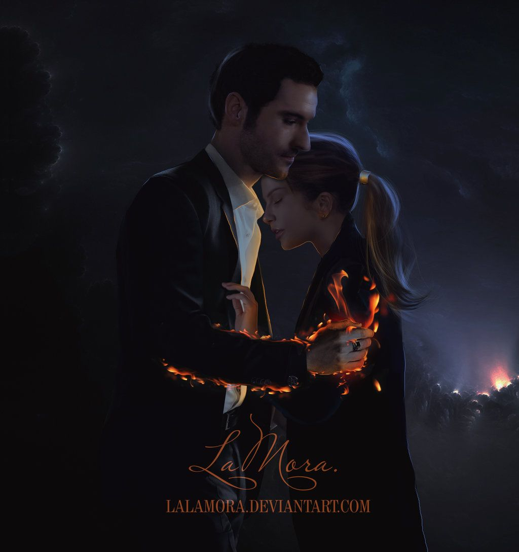 Netflix Saves Fox S Lucifer From Cancellation: Lucifer And Chloe By LaLaMora On DeviantART