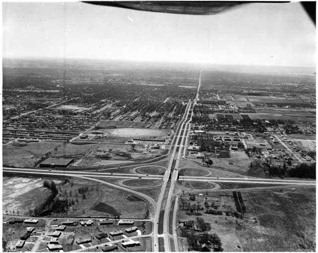 Aerial View Snelling And Highway 36 Looking South Roseville