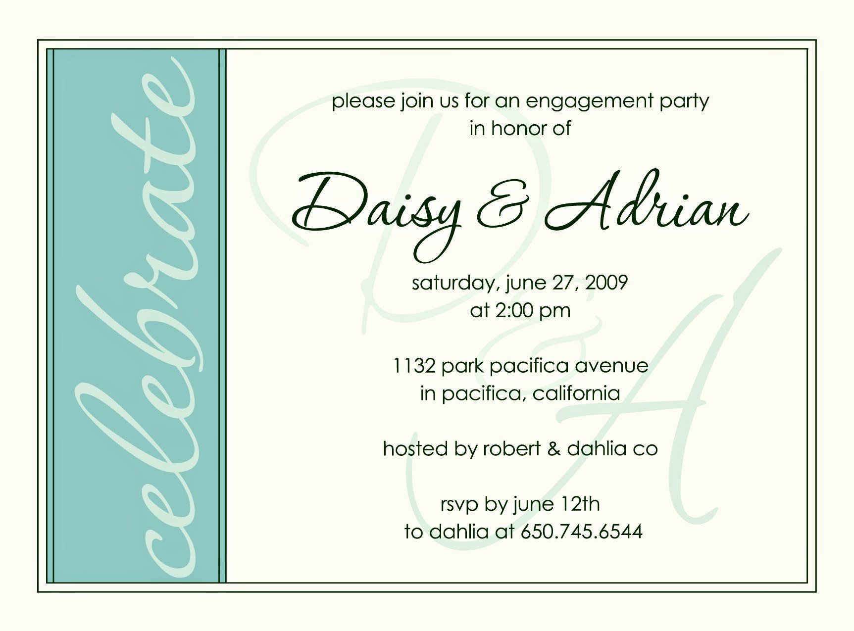 Free Engagement Party Invitation Template Beautiful Engagement Invitations Engag Free Engagement Party Invitation Template Beautiful Engagement Invitations I 2020