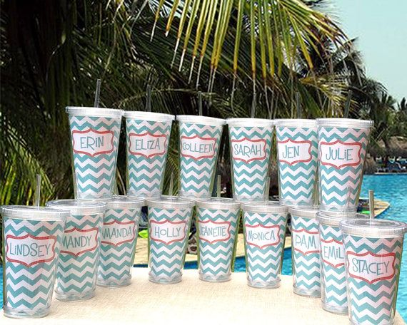 Personalized Bridesmaid Tumbler SETS - Personalized Tumbler Sets Bridesmaid Tumbler Monogrammed Tumbler Bridesmaid Gift