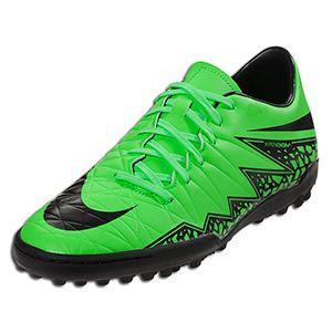 6c1897f87 Nike Hypervenom Phelon II TF - Green Strike/Black/Black - Lightning Storm  Pack || SOCCER.COM