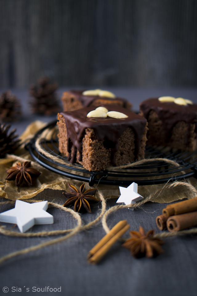 Aus der Weihnachtsbäckerei: Lebkuchen
