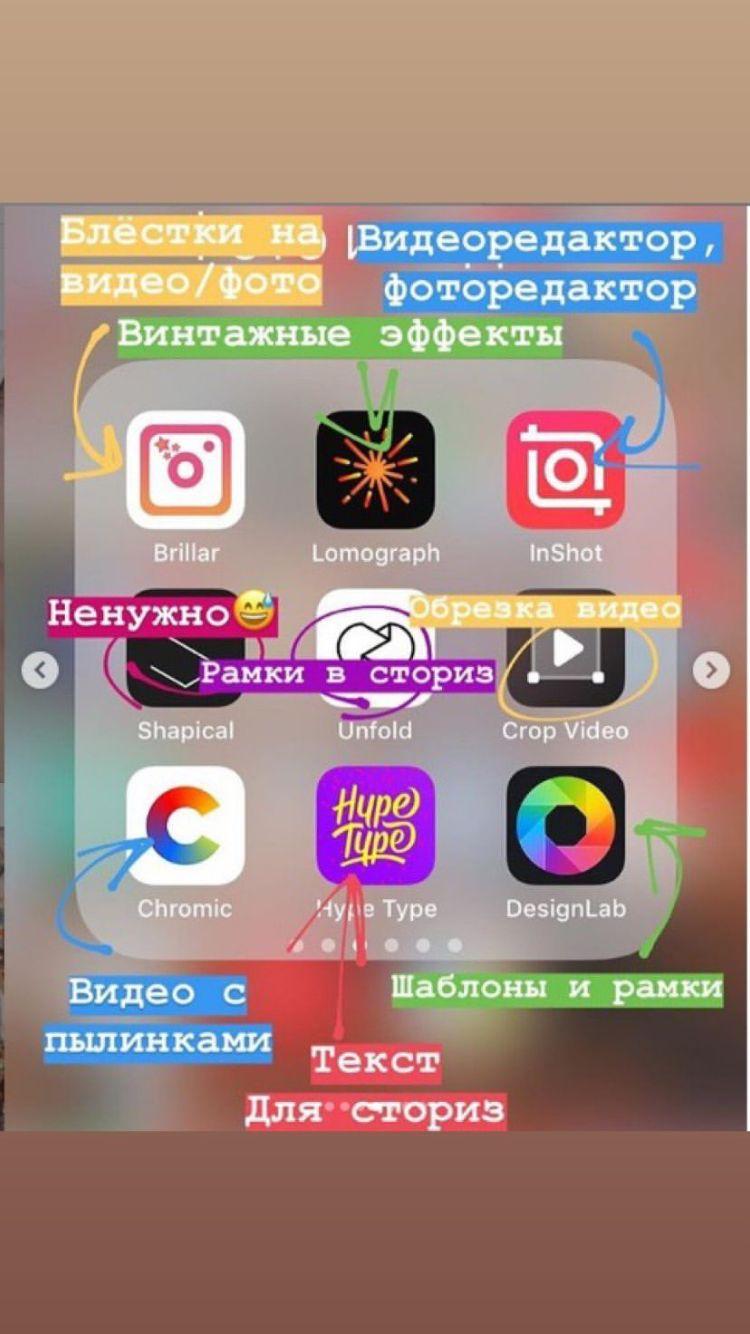 программы для айфона редактор фотографий