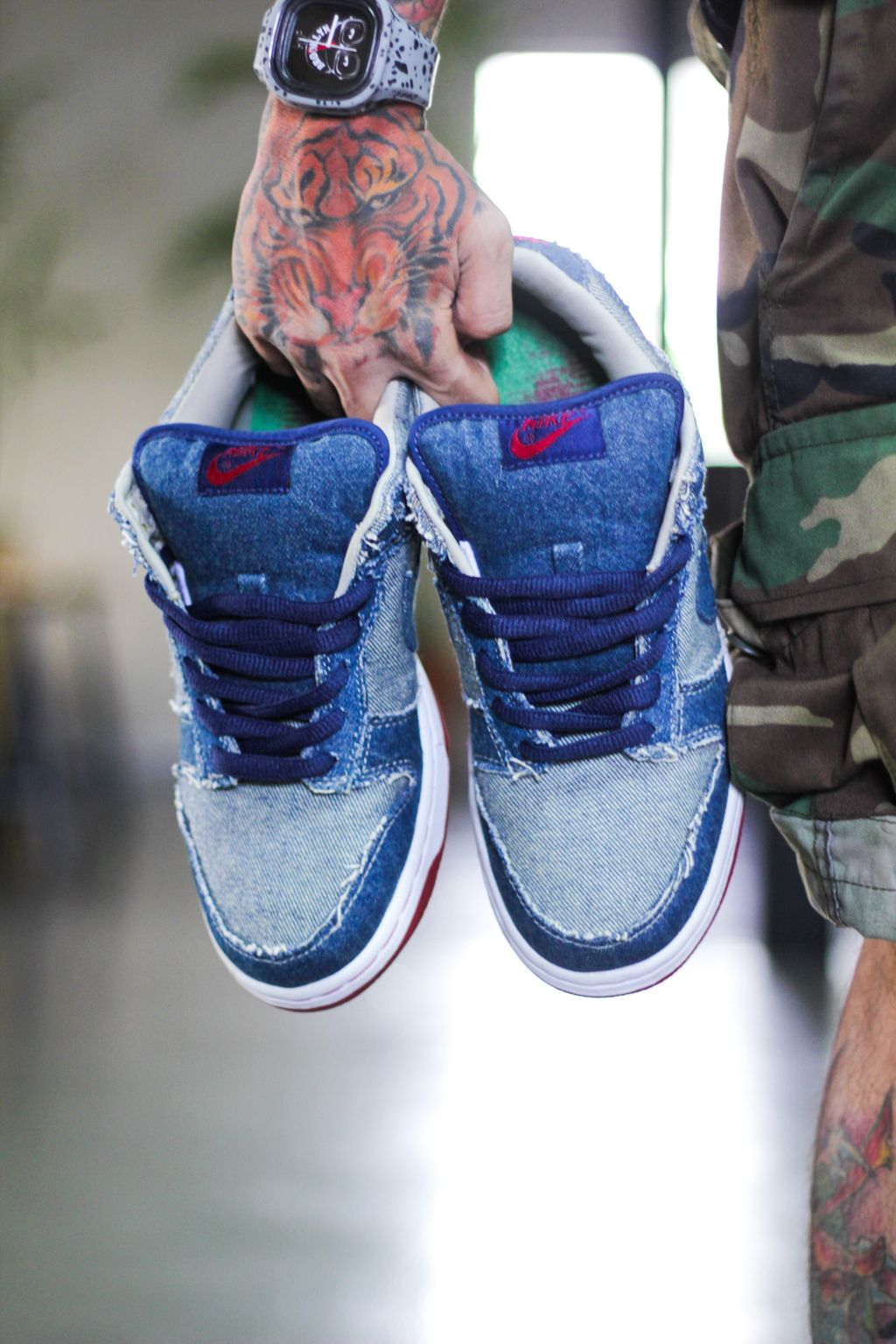 the latest ad3f2 365fc Shoeppreciation: The Nike Dunk SB Reese Forbes Denims | Shoephoric ...