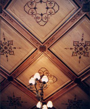 Faux Inlay Ceiling Cynthia Willoughby With Images Ceiling Art
