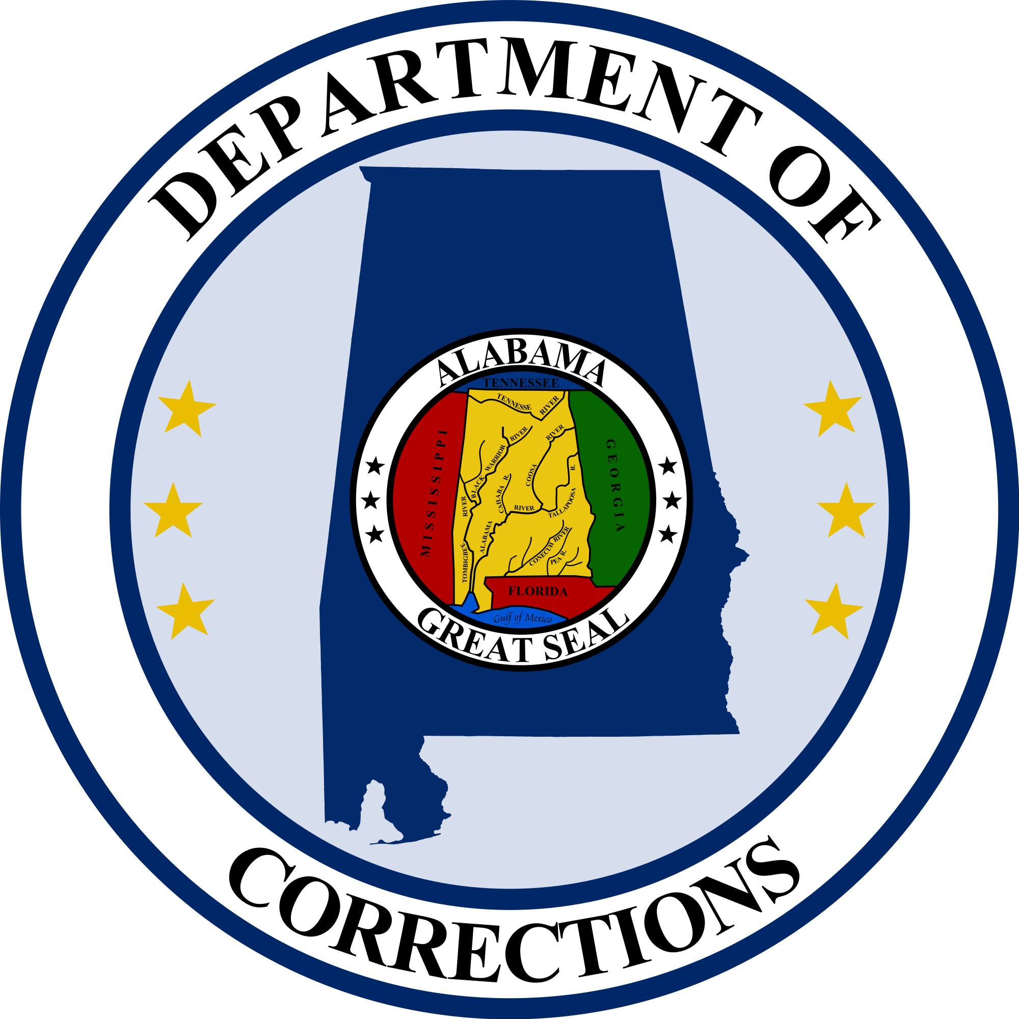 Alabama Department of Corrections American Coat Of Arms