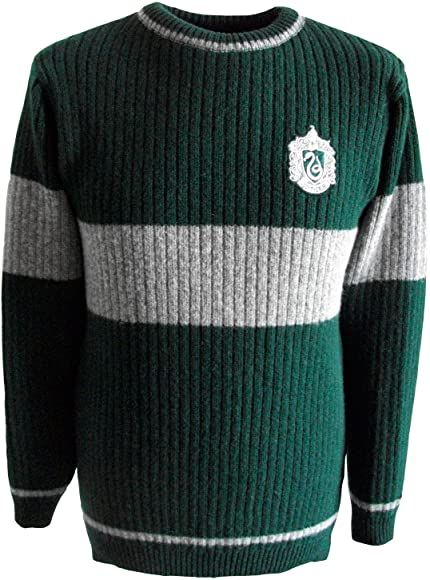 Harry Potter Quidditch Slytherin Sweater Sweater O