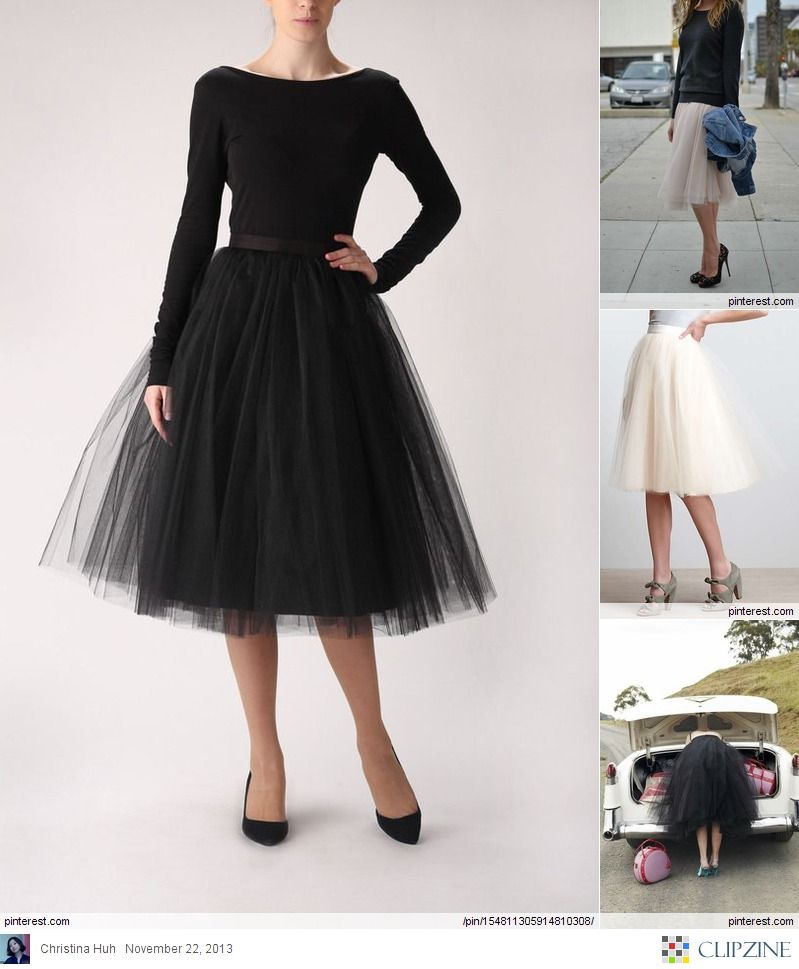 Fashionable Outfits Tulle Clothing (With Images)