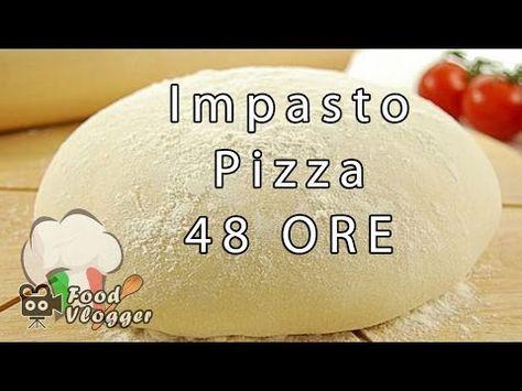 RICETTA IMPASTO PIZZA FATTO IN CASA ALTISSIMA DIGERIBILITA, lunga lievitazione e maturazione