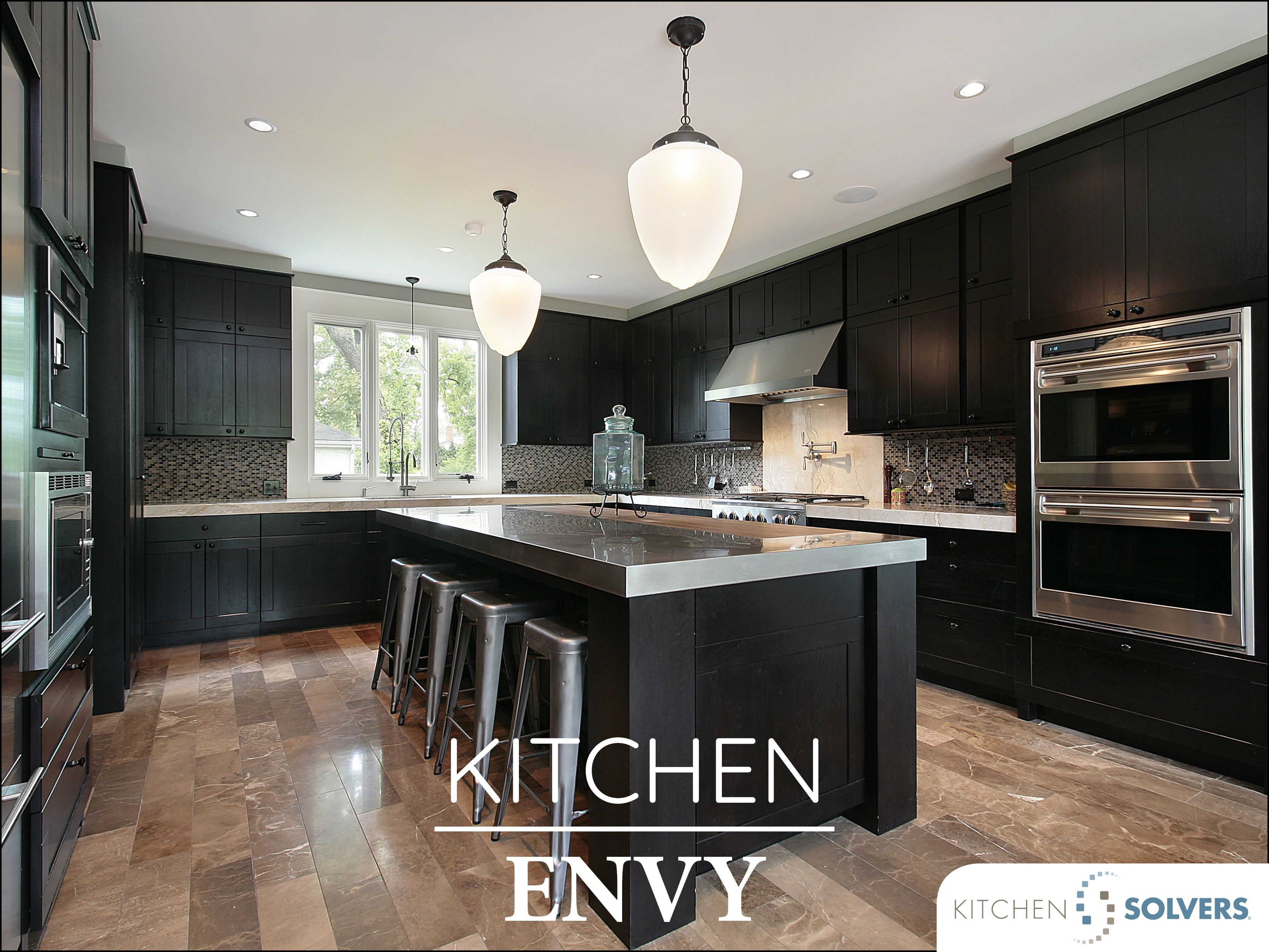 Black And Tan Luxury Kitchen Design Luxury Kitchens Grey Countertops
