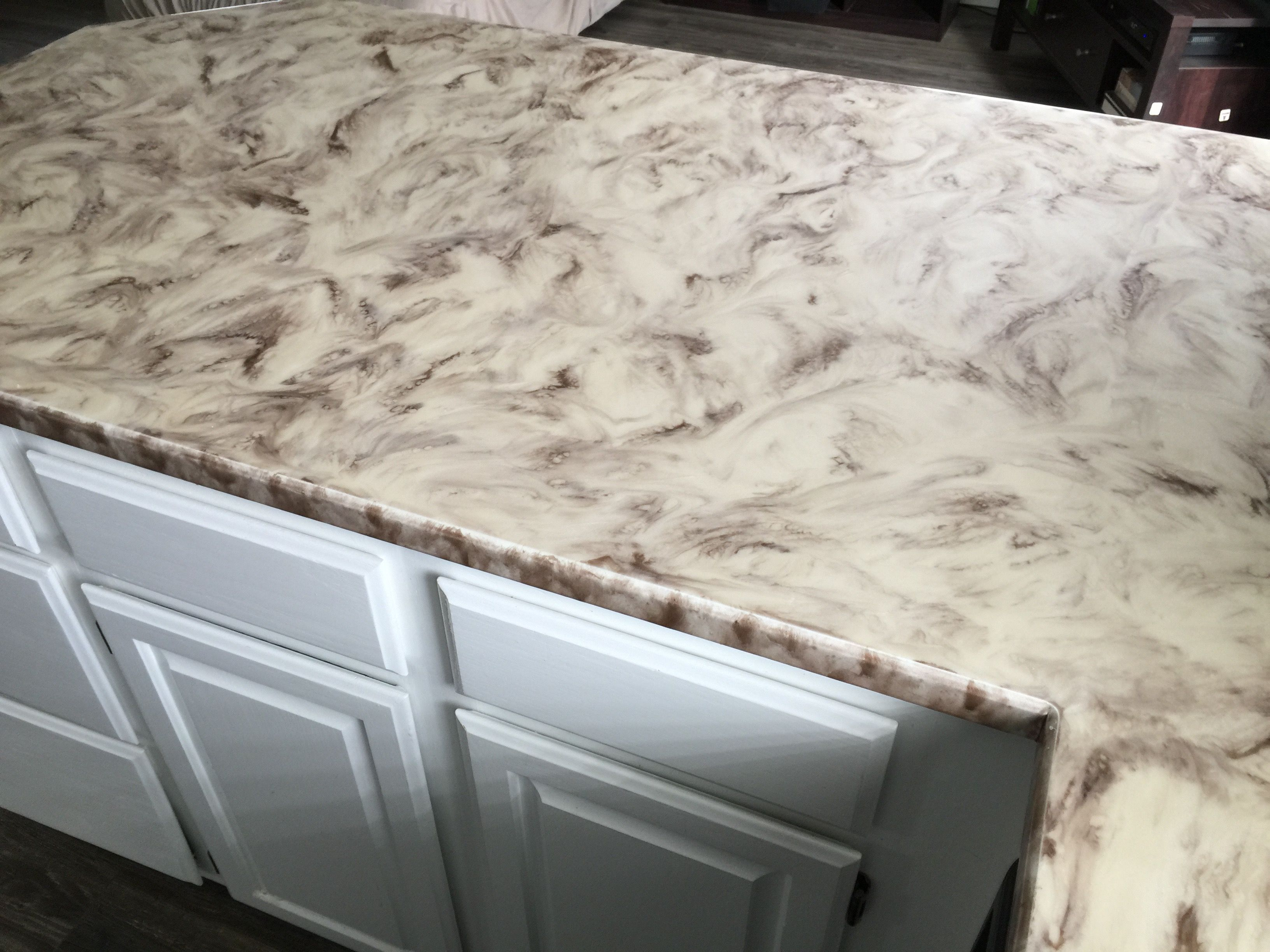 Custom Counter Kit Resin countertops, Epoxy countertop