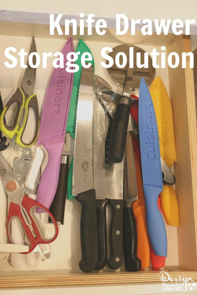 Kitchen Knife Drawer Solution Knife Drawer Kitchen Knife
