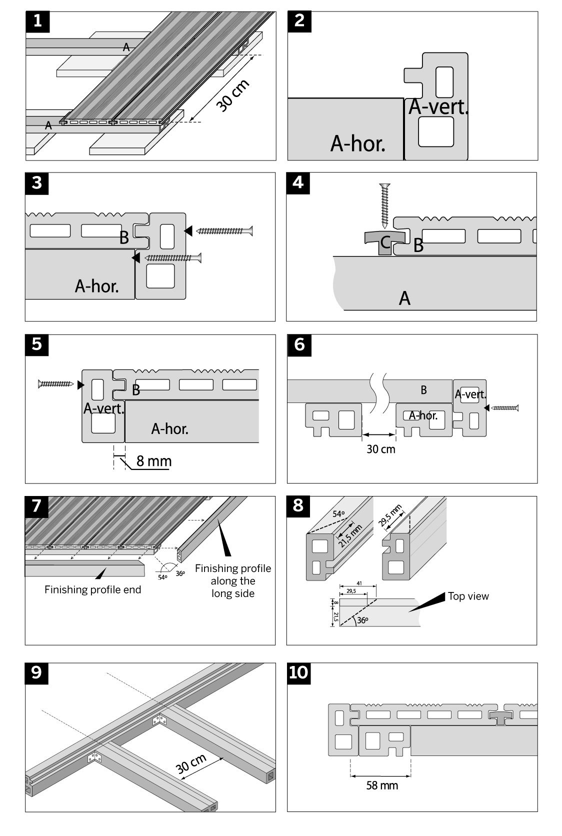 Best Composite Decking Fixing Instructions Composite Decking 400 x 300
